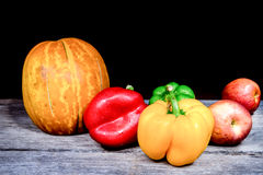 Gemüse, Kräuter und Frucht Lizenzfreie Stockfotografie