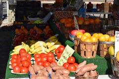 Gemüse am Landwirt-Markt Lizenzfreie Stockfotografie
