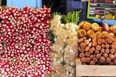 Gemüse am Markt Lizenzfreies Stockbild