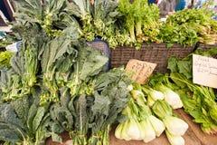 Gemüse am Markt Stockfoto