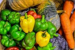Gemüse organisch Stockfoto