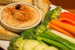 Gemüse-Palte Lizenzfreie Stockfotos