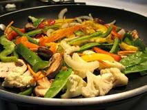 Gemüse stirfry Lizenzfreie Stockfotos