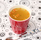 Gemüse-Suppe lizenzfreie stockfotos