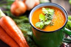 Gemüse-Suppe Stockbild