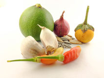 Gemüse in Thailand Stockfotografie