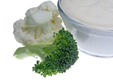 Gemüse und Bad stockfotos