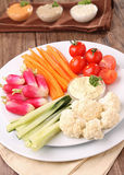 Gemüse und Bad Stockfoto