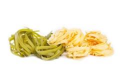 Gemüse und Eiteigwaren Stockfotos