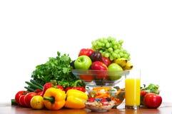 Gemüse und Früchte Lizenzfreie Stockfotografie