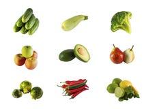 Gemüse und Frucht Stockfotografie