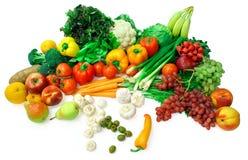 Gemüse-und Frucht-Anordnung 2 Stockbilder