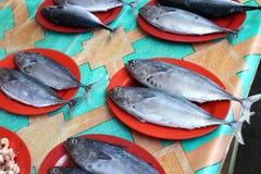 Gemüse und Frucht, Fischmarkt in Morotai-Insel, Indonesien Lizenzfreies Stockfoto