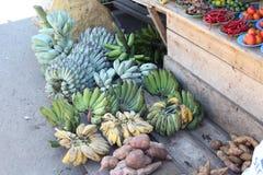 Gemüse und Frucht, Fischmarkt in Morotai-Insel, Indonesien Lizenzfreie Stockfotografie