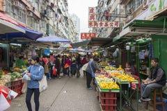 Gemüse- und Fruchtmarkt lizenzfreies stockfoto