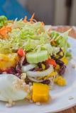Gemüse und Obstsalat Lizenzfreie Stockfotos
