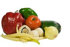 Gemüse und Pilz Lizenzfreie Stockfotografie