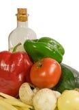 Gemüse und Pilz Stockfoto