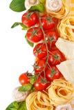 Gemüse und Teigwaren. Stockbilder
