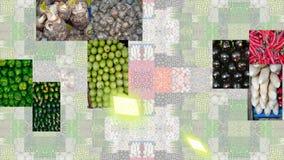 Gemüse verschieden und bunt vektor abbildung
