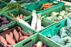 Gemüse vom Markt Lizenzfreie Stockbilder