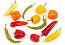Gemüse von der Oberseite Lizenzfreies Stockfoto