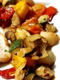 Gemüse Whitschweinefleisch lizenzfreie stockfotos