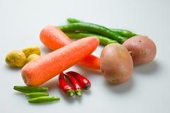 Gemüseansammlung lizenzfreie stockfotografie