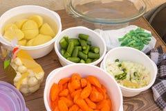Gemüseanzeige Lizenzfreie Stockfotos