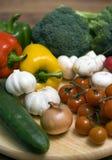 Gemüseaufbau Stockfotos
