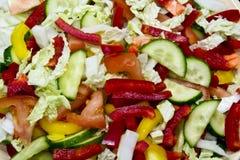Gemüseausschnitt Lizenzfreie Stockfotos