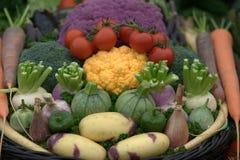 Gemüseauswahl Stockbild