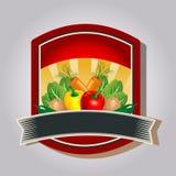 Gemüseausweis Stockfoto