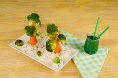 Gemüsebäume Stockfotos