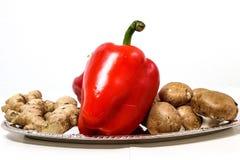 Gemüsebehälter stockfotos