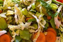 Gemüsebeschaffenheit Stockfotografie