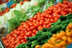 Gemüsebildschirmanzeige Lizenzfreie Stockfotografie