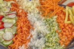 Gemüseblumenstrauß Stockfotografie