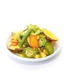 Gemüsechip Stockfoto