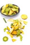 Gemüsechip Stockbild