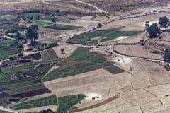 Gemüsefelder in Äthiopien Lizenzfreie Stockfotos