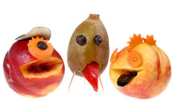 Gemüsegarten-Monsterserie Lizenzfreie Stockbilder