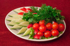Gemüsegemisch Lizenzfreies Stockfoto