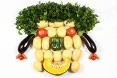 Gemüsegesicht Lizenzfreies Stockfoto