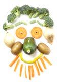 Gemüsegesicht Stockbilder