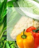 Gemüsehintergrund Stockfotografie