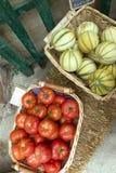 Gemüsekörbe Lizenzfreie Stockfotos