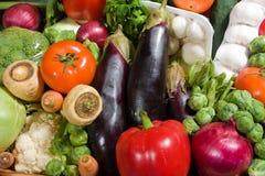 Gemüsekörbe Stockbild