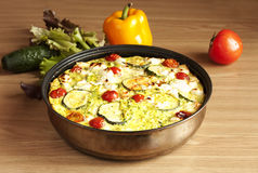 Gemüsekasserolle Lizenzfreie Stockfotos