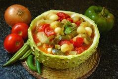 Gemüsekasserolle stockfotografie